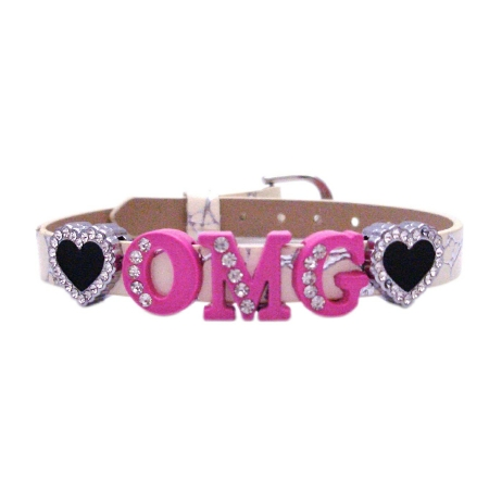 Teenage Jewelry Text Messaging Oh My God In OMG Bracelet Stunning