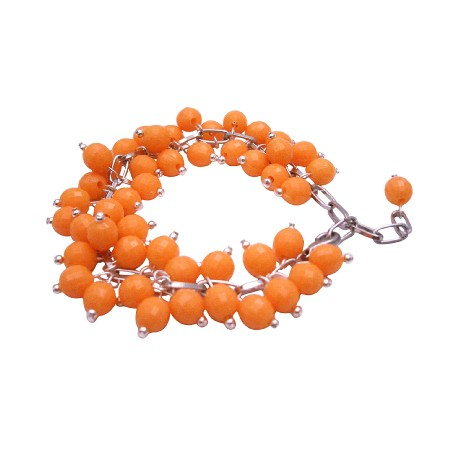 Prom Jewelry Return Jewelry Wedding Tangerine Customize Your Way