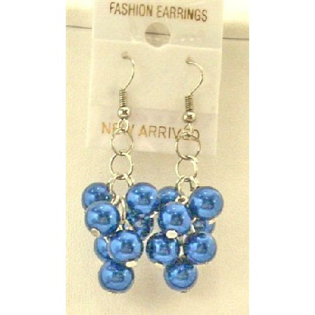 Cultured Pearls Earrings w/ Leamon Pearls