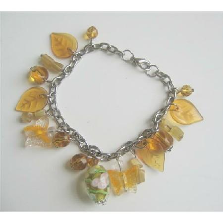 Stunning Summerish Dangling Affordable BRacelet Multi Beads Bracelet