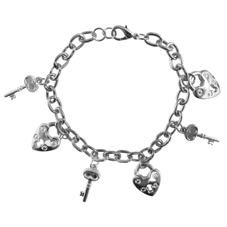 Lock Key Dangling bracelet Smashing Stylish Charm Lock Key Bracelet