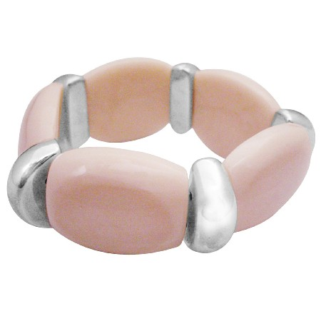 Stylish Bracelet To Fit Your Budget Champagne Stretchable Bracelet