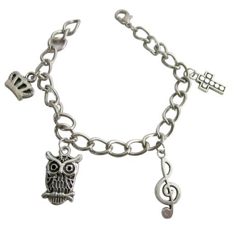 Charm Bracelet Dangling Stylish & Chic Bracelet