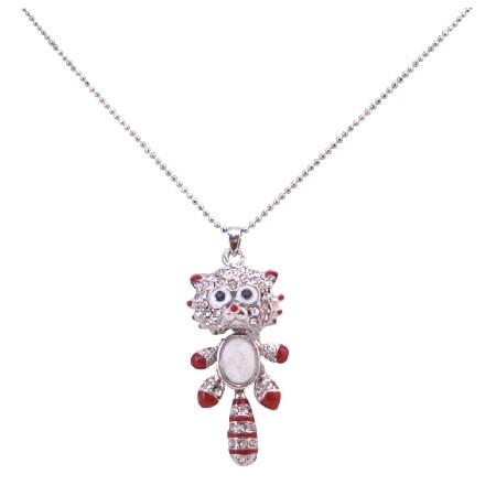 Cute Animal Pendant Necklace Under $5 Jewelry Inexpensive Cat Pendant