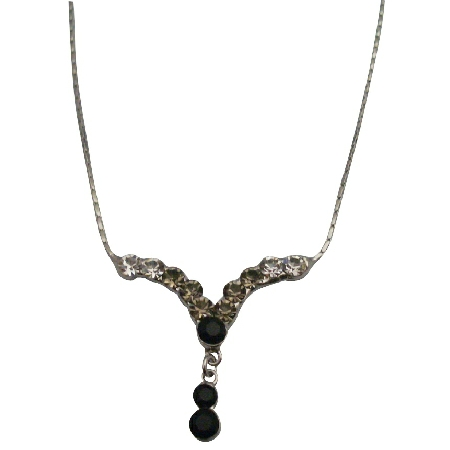 Crystals Bridesmaid Gifts Jewelry Affordable Inexpensive Necklaces