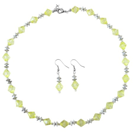 Dainty Sleek Necklace Under $5 Jewelry Lite Yellow Beautiful Color Set