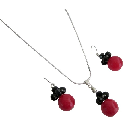 Red Black Combo Jewelry Holiday Gifts Cute Girls Gifts