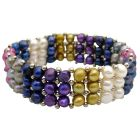 Multicolored Freshwater Pearl Bracelet Absolutely Stunning Gift