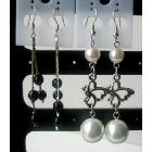 Simulated Pearl Dangling Earrings Earrings