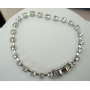 Simulated Diamond Cubic Zirconia Diamante 7 Inches Long Bracelet Gift