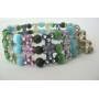 Multi Color Beads! Colorful Stretchable Bracelet